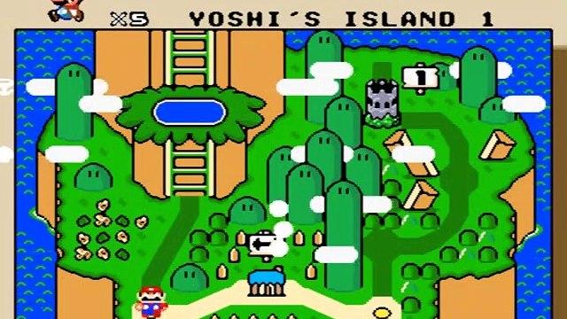 Best Mario Game - Super Mario World - Yoshi Island 01