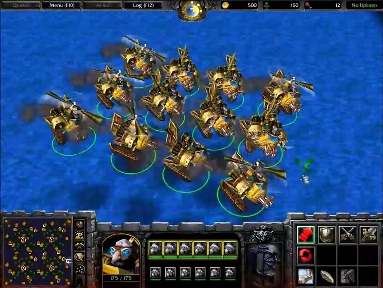 Warcraft 3: Ujimasa Presents the Kul Tiran Flying Machines and Gyrocopters