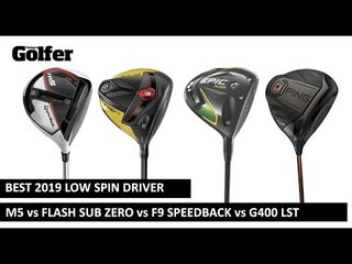 Best 2019 Low Spin Driver Test