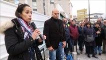 Ils soutiennent Abdel Zahiri devant le palais de justice d'Avignon