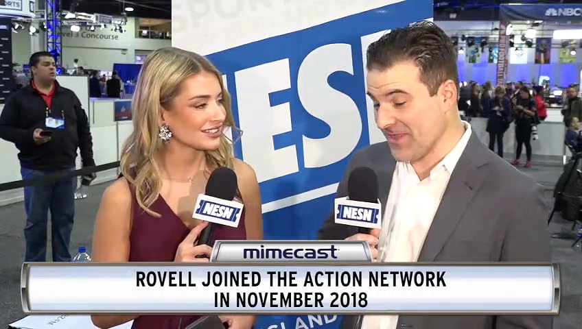 Super Bowl 53 Radio Row: Darren Rovell Talks Rob Gronkowski