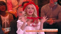 Tatiana-Laurence Delarue sort un string en direct !