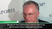 Salihamidzic fell in love with Hudson-Odoi - Rummenigge