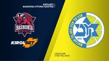 KIROLBET Baskonia Vitoria-Gasteiz - Maccabi FOX Tel Aviv Highlights | EuroLeague RS Round 21