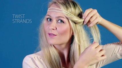 hairband hairstyle