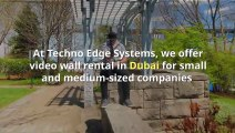 Video wall Rental services in Dubai  - Call @+971-54-4653108  to hire Video wall .