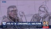 Procès du 36 quai des Orfèvres: les deux policiers condamnés à 7 ans de prison ferme pour viol
