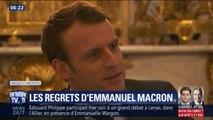 """""""J'ai beaucoup appris (...) Cela m'a scarifié."""" Les confidences d'Emmanuel Macron sur sa présidence à des journalistes"""