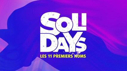 Solidays 2019 - Les 11 premiers noms