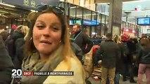 Exaspération des voyageurs à Paris-Montparnasse après une énième panne hier - Regardez