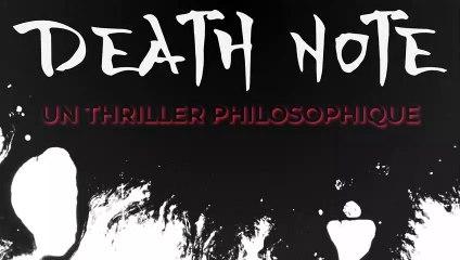 Death Note : Un thriller philosophique