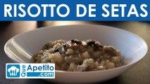Receta de risotto de setas fácil y casera | QueApetito