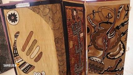 Mali : à Ségou, un centre perpétue les techniques traditionnelles de fabrication du Bogolan