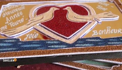 Mali : quand les céréales sont utilisées dans la décoration