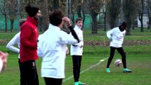Milan Next: l'allenamento microfonato dell'Under 13