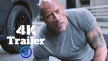 Fast & Furious Presents: Hobbs & Shaw Official Trailer (4K Ultra HD) Jason Statham, Dwayne Johnson