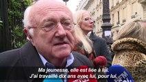 Obsèques du compositeur Michel Legrand à Paris