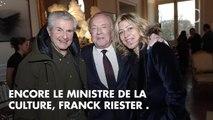 PHOTOS. Claire Chazal, Brigitte Fossey, Frédéric Beigbeder... leur dernier hommage à Michel Legrand au théâtre Marigny