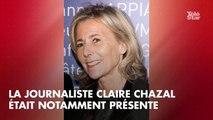 PHOTOS. Claire Chazal, Agnès Varda, Frédéric Beigbeder… Les people rendent hommage à Michel Legrand au théâtre Marigny