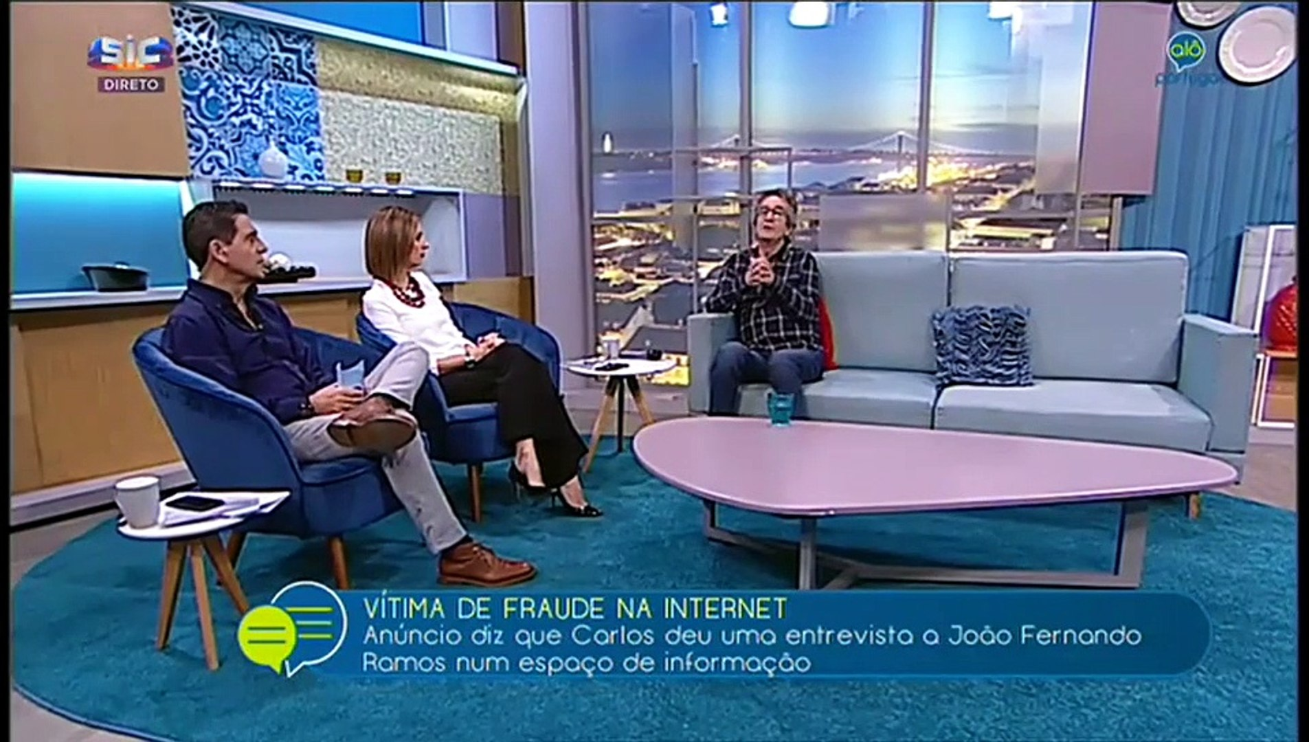 Carlos Areia  «Serviram-se da minha imagem para burlar » «Fraude na Internet»