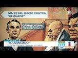 """Dámaso López, """"El licenciado"""", habla sobre los asesinatos ordenados por """"El Chapo"""""""
