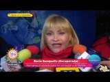 Rocío Banquells fue internada por una fuerte influenza | Sale el Sol