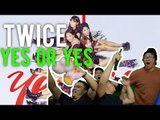 "sooo... TWICE, you got two options ""YES OR YES"" (MV Reaction)"