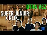 "SUPER JUNIOR and REIK ""ONE MORE TIME"" (MV Reaction) #LOVEIT"