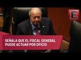López Obrador considera posible una investigación de Fiscalía contra Deschamps