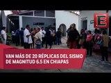 No hay fallecidos en Chiapas por sismo de magnitud 6.5