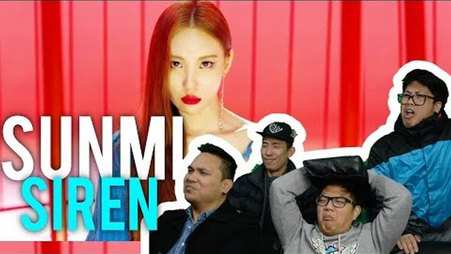 "so hot that.. SUNMI sounds the ""SIREN"" (MV + LIVE Reaction)"