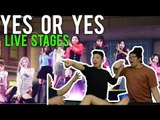 is that 3 LIVE STAGES? YES OR YES (TWICE Reactions)