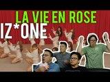 "IZ*ONE ""La Vie en Rose"" (MV Reaction) #bop"