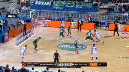 EuroLeague 2018-19 Highlights Regular Season Round 21 video: Panathinaikos 88-75 Efes
