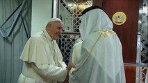 Le pape à Abu Dhabi pour une visite historique