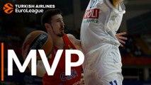 Turkish Airlines EuroLeague Regular Season Round 21 MVP: Nando De Colo, CSKA Moscow