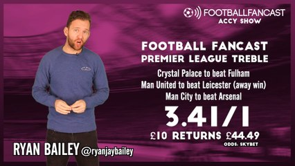 Watch: Accy Show – Man United, Crystal Palace and Man City