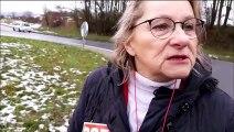 Manifestation contre l'installation d'Amazon à Augny :  Irma Vollmer, élue Front de gauche
