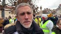 """Professeur Laurent Thines, chef du service de neurochirurgie au CHRU Minjoz de Besançon : """"Je participe à la marche pour rendre hommage aux  blessés."""""""