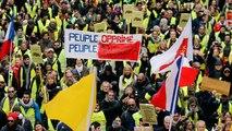 """Los """"chalecos amarillos"""" franceses denuncian la violencia policial en el duodécimo día de protestas"""