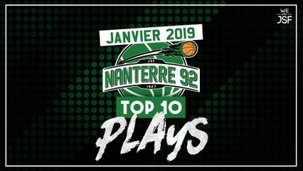 TOP 10 Plays Nanterre 92 Janvier 2019