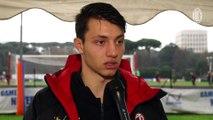 Roma-Milan Primavera: le dichiarazioni