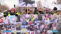 """""""Gilets jaunes"""" : les blessés en première ligne à Paris"""