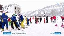 Alpes-Maritimes : une neige optimale pour les skieurs d'Isola 2000