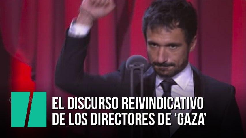 El discurso reivindicativo de los directores de 'Gaza'