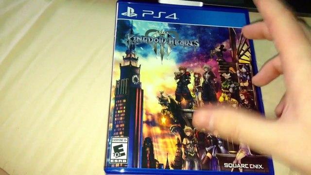 Kingdom Hearts III (PS4) Unboxing