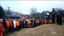 Battue géante contre la peste porcine  organisée ce dimanche 3 février dans la Meuse