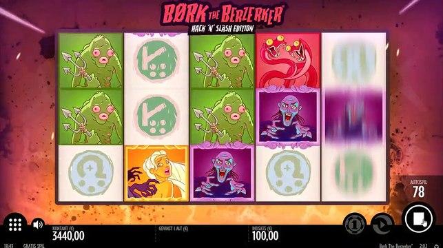 Børk The Berzerker - Hack N' Slash Edition - Mr Green Danmark