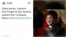 Gilets jaunes. Joachim Son-Forget et Doc Gynéco veulent être «Casques Bleus»