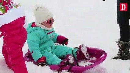 Avec la neige Payolle retrouve le sourire
